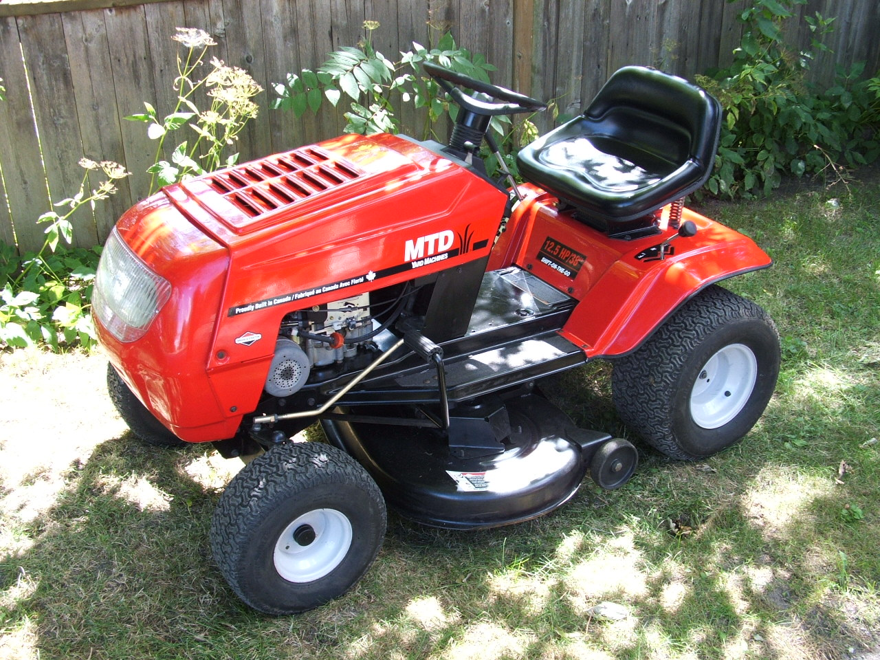 38 Lawn Tractor
