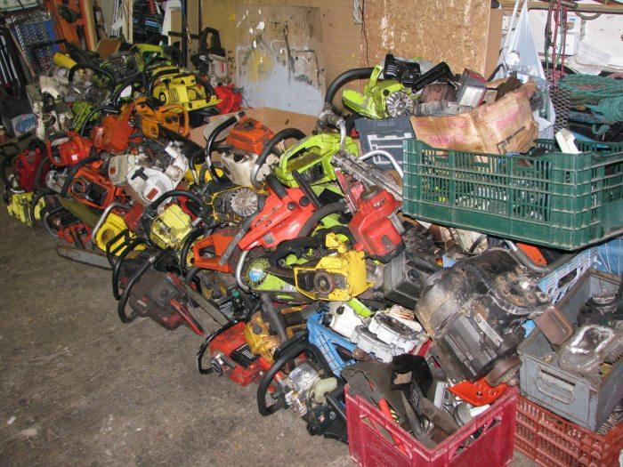 Used Chainsaw Parts
